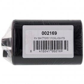 Pile 6 volts de rechange pour anti renard Foxlights