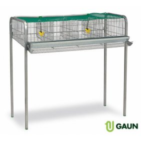 Cage pour cailles pondeuses 4 compartiments