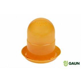 Mangeoire pour poussins de 2 kilos orange