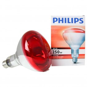 Ampoules chauffantes infrarouges Phillips