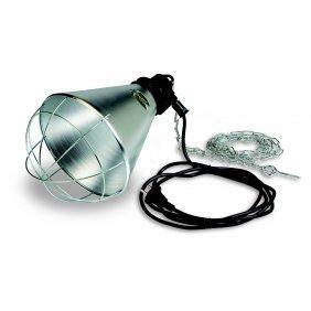 Lampe chauffante à ampoule infrarouge pour réchauffer les poussins
