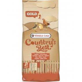 Aliment de démarrage pour poussins Gold 1 Crumble Versele-Laga 20 kg