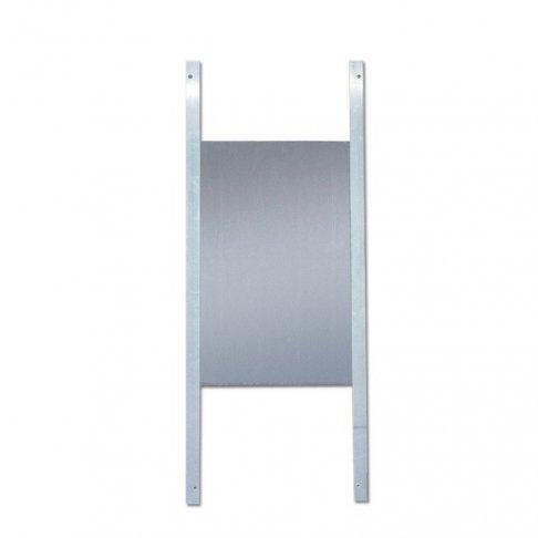 Porte en aluminium pour poulailler