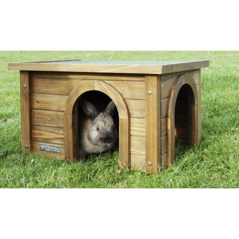 Maison en bois pour rongeurs
