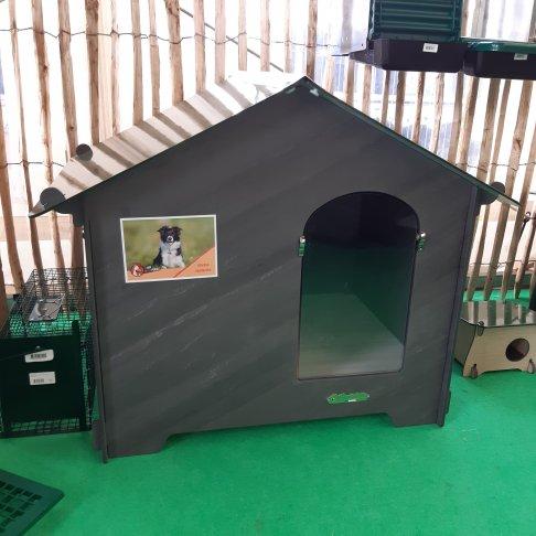 Niche en HPL ultra-épais Thermo-Chic pour chiens