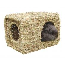 Maison en herbe pour lapins ou autres rongeurs
