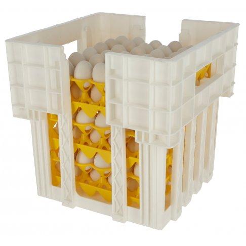 Bac de stockage pour les plateaux porte oeufs