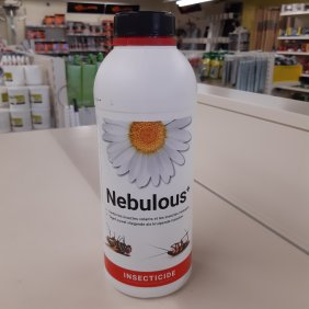 Nebulous  Insecticide anti poux rouges