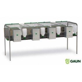 Cages d'élevage pour lapins