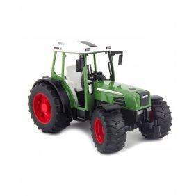 Tracteur jouet Bruder Fendt 209S avec remorque vert et rouge 02104