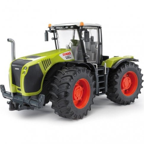 Tracteur jouet Bruder Claas Xerion 5000 vert et noir