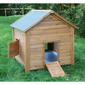 Poulailler en bois Syracuse Kerbl pour 5-6 poules très facile pour le nettoyage
