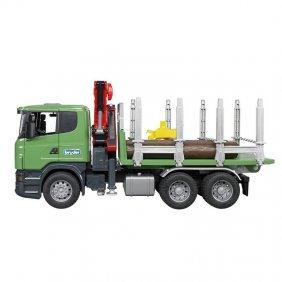 Camion forestier Scania R-séries jouet Bruder 03524