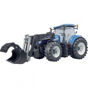 Tracteur jouet Bruder New Holland T7.315 bleu 03120