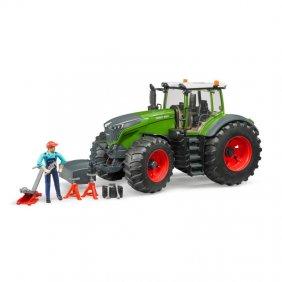 Tracteur jouet Bruder Fendt Vario 1050 verte et rouge 04040