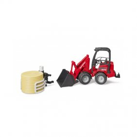 Mini chargeur jouet Bruder Schäffer 2034 rouge 02190