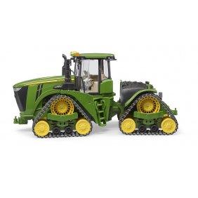 Tracteur jouet Bruder John Deere 9620RX à chenilles