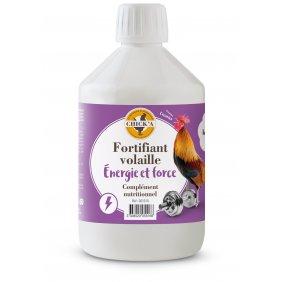 Fortifiant pour poules et autres volailles énergie force, complément alimentaire 500 ml