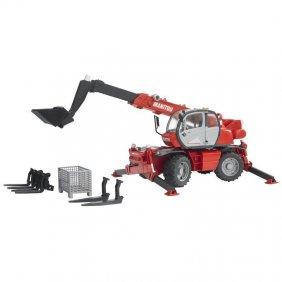 Manitou MLT 633 jouet Bruder rouge 02125