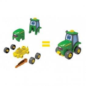 Construisez votre ami Johnny le tracteur John Deere