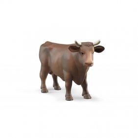 Animaux de la ferme Bruder : taureau - vache - cheval