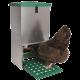 Pack Luxe du Roi trémie anti-nuisibles + abreuvoir inox pour poules