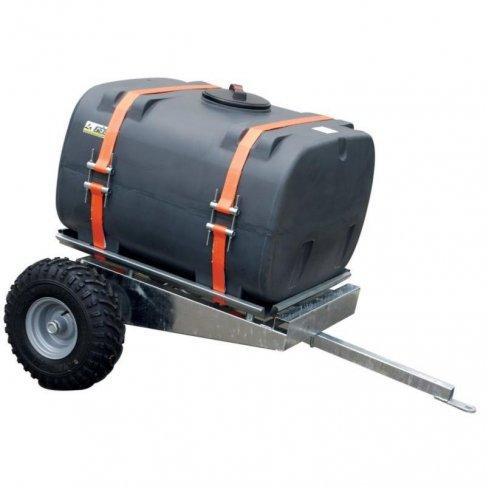 Remorque basculante et tonne à eau pour micro tracteur ou quad