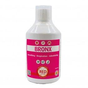 Complément alimentaire respiration pour poules et lapins Bronx Red Animals 500 ml