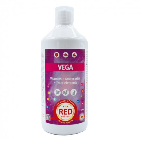 Red Animals Vega vitamines 500 ml