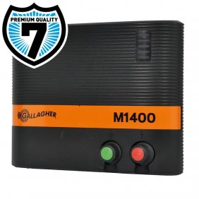Electrificateur sur secteur Gallagher M950 et M1400