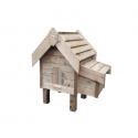 Poulailler solide en bois autoclave artisanaux