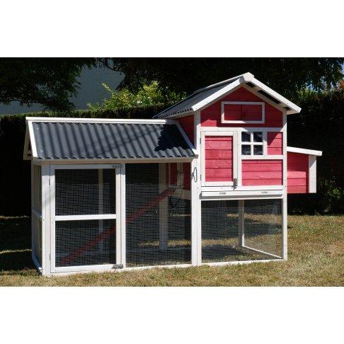 poulailler house 2 pour 4 5 poules. Black Bedroom Furniture Sets. Home Design Ideas