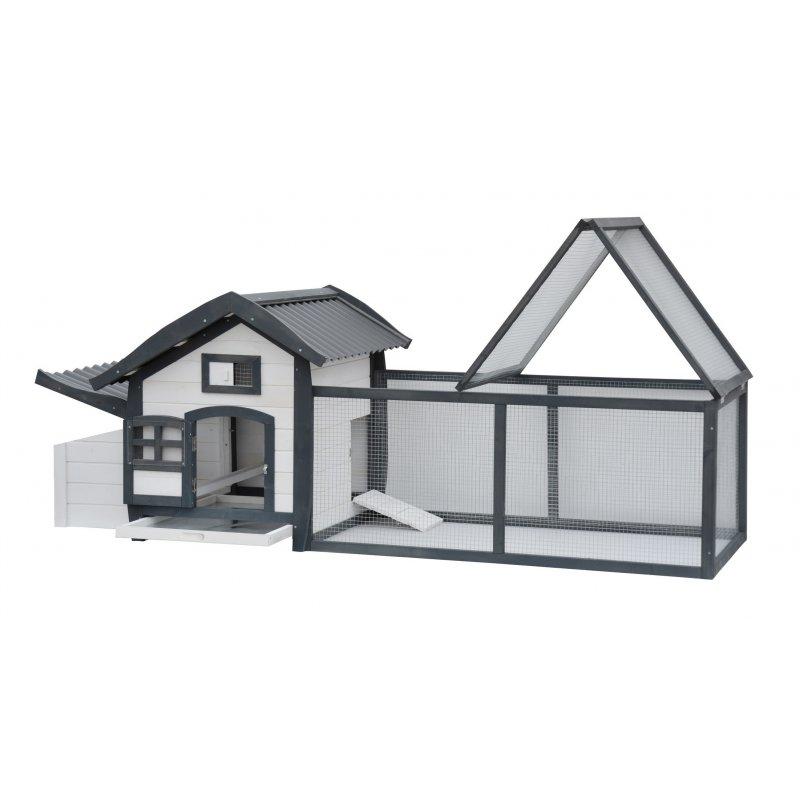 poulailler alice avec enclos pour 2 3 poules. Black Bedroom Furniture Sets. Home Design Ideas