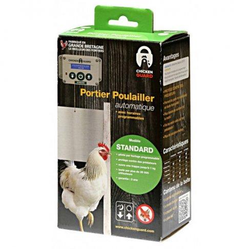 Portier automatique pour poulailler Chicken Gard standard 1 kg