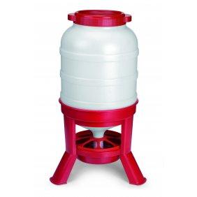 Trémie en plastique sur pied de 30 litres pour volailles