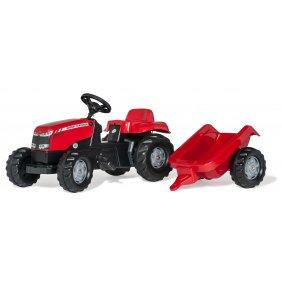 Tracteur à pédales RollyKid