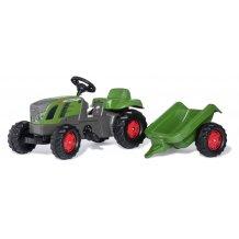 Tracteur à pédales  + remorque RollyKid à partir de 2.5 ans jusque 5 ans