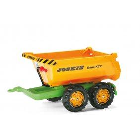 Benne remorque pour tracteurs à pédales jouet Rolly Toys